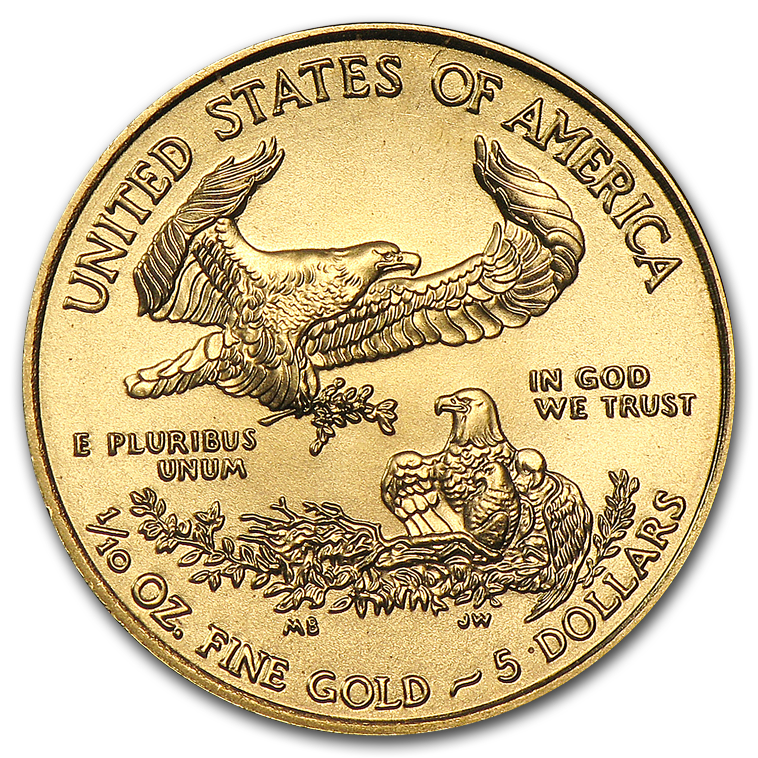 2014 1/10 oz Gold American Eagle (BU)