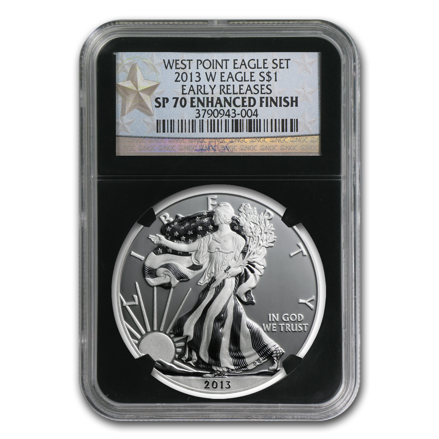 2013-W Silver American Eagle SP-70 NGC (ER, Enhanced Finish)