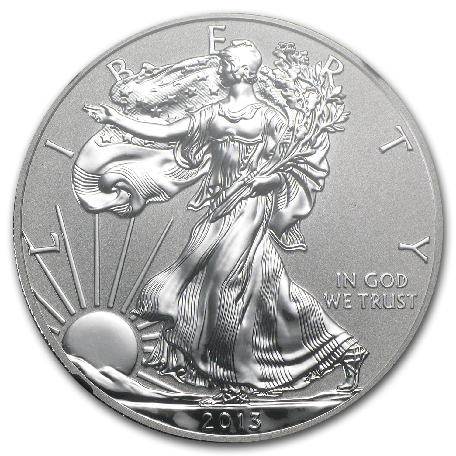 2013-W (Reverse Proof) Silver Eagle PF-70 NGC First Releases