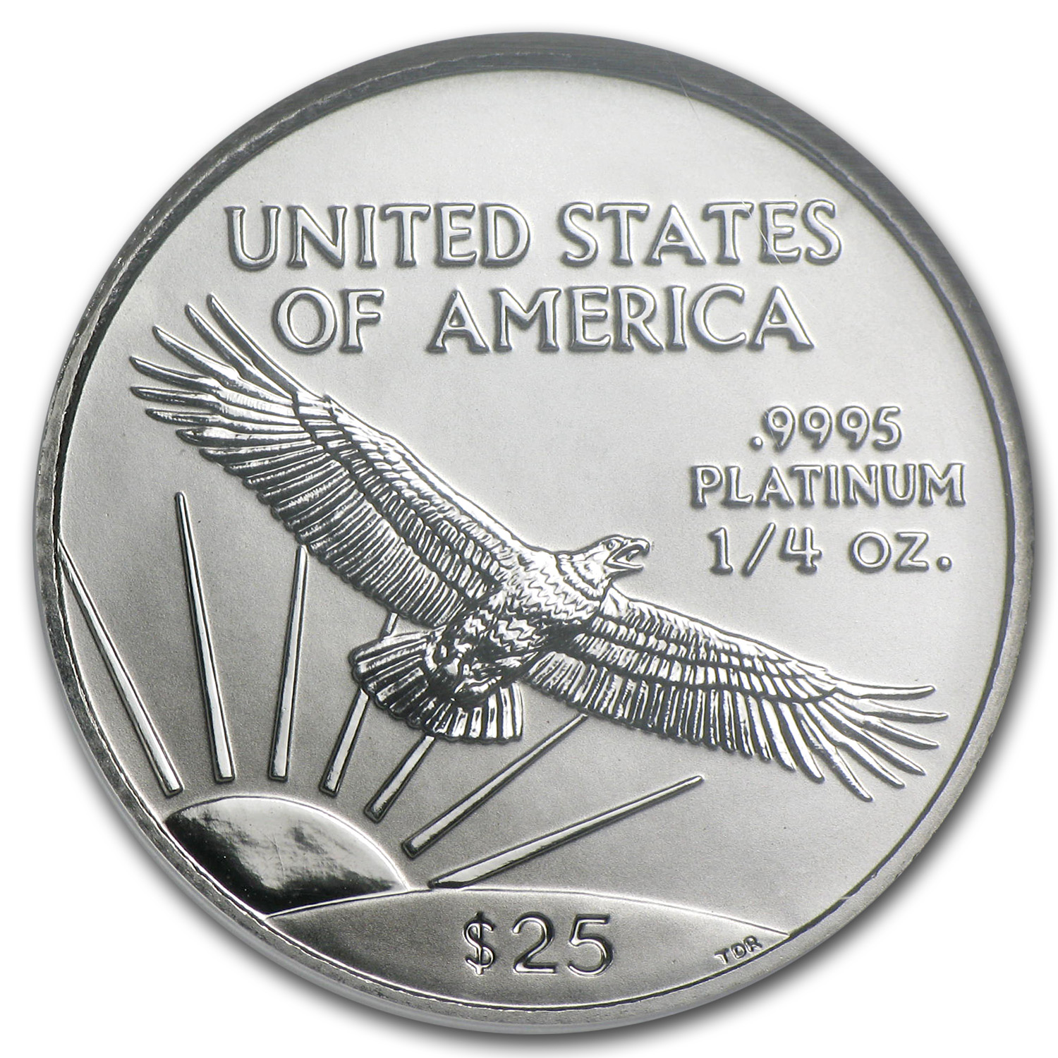 1998 1/4 oz Platinum American Eagle MS-70 NGC
