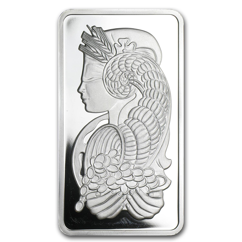 100 Gram Silver Bar Pamp Suisse Fortuna No Coa All