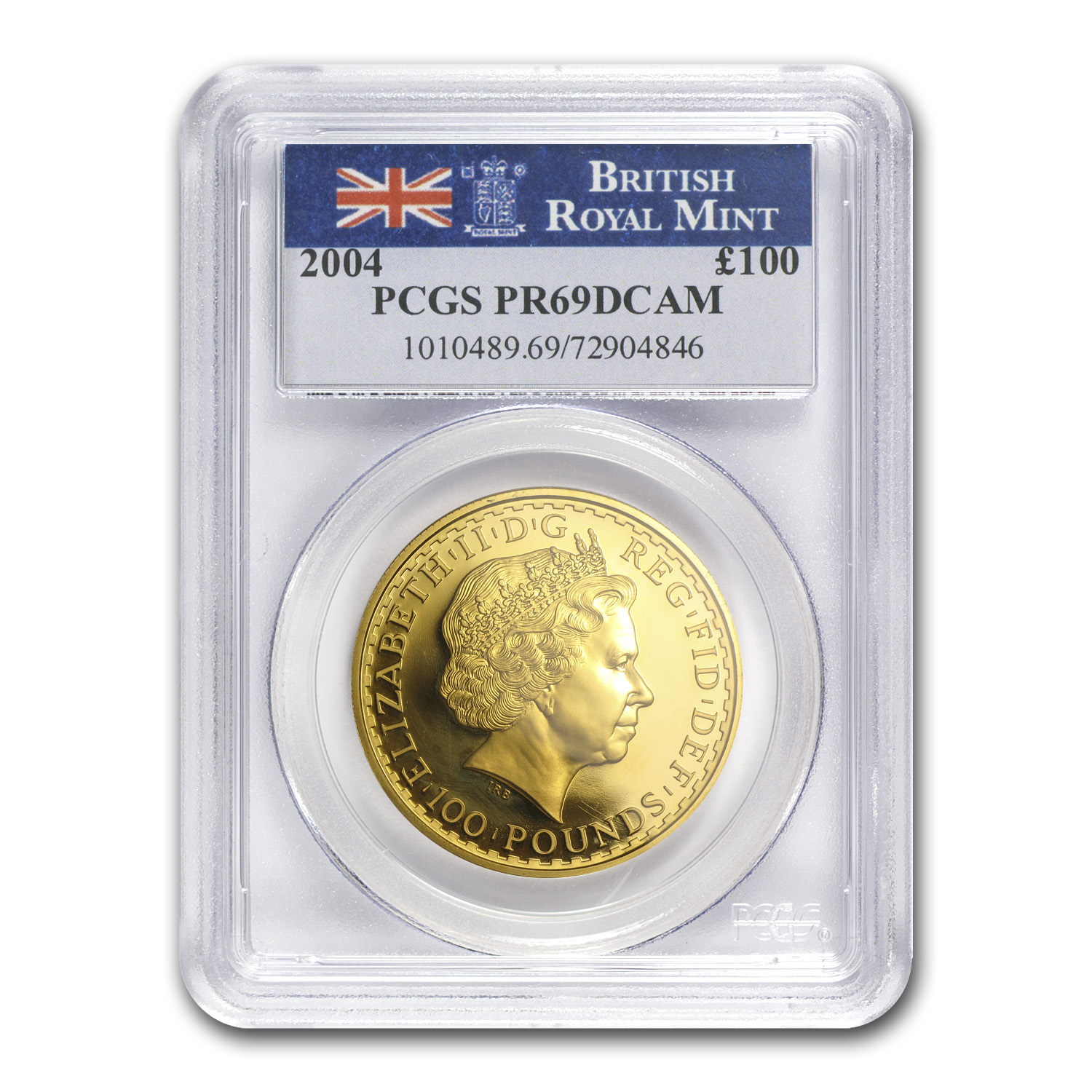 2004 Great Britain Proof Gold 1 oz Britannia PR-69 PCGS