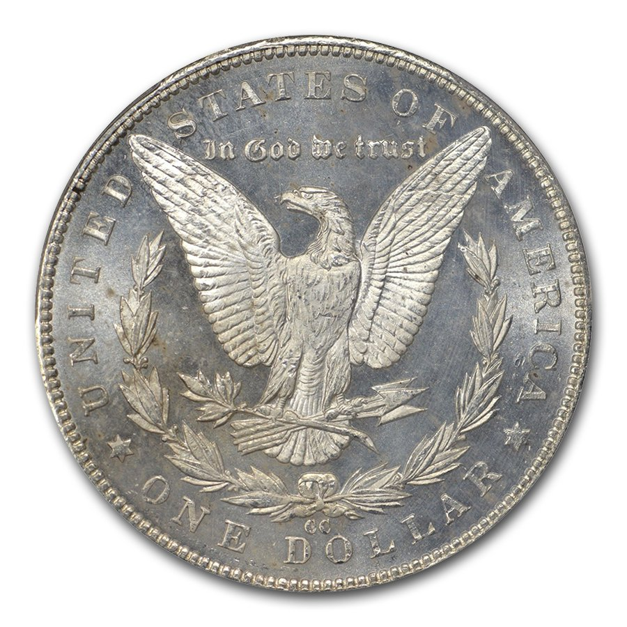 1891-CC Morgan Dollar MS-63 PL Proof Like PCGS
