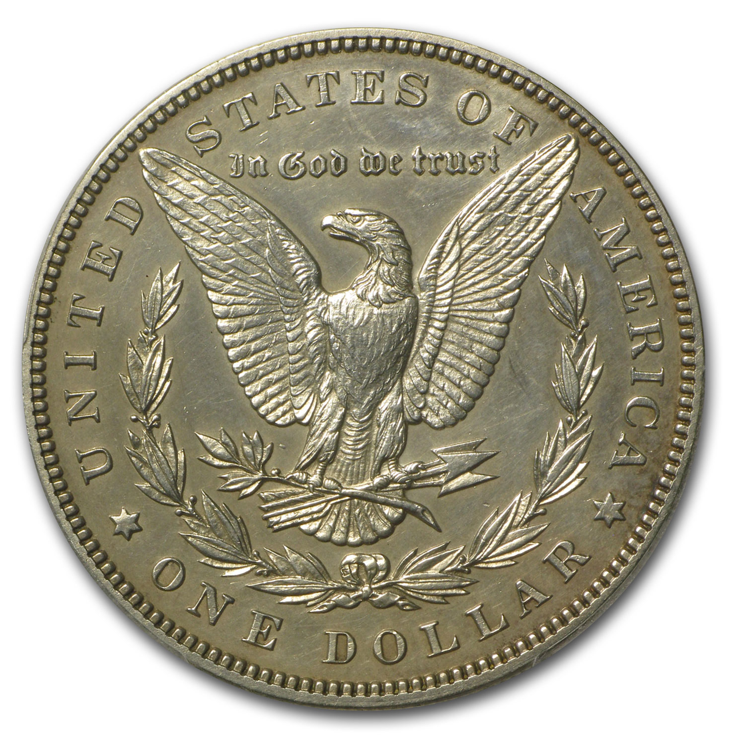 1899 Morgan Dollar - Proof-58 Details - Cleaned PCGS
