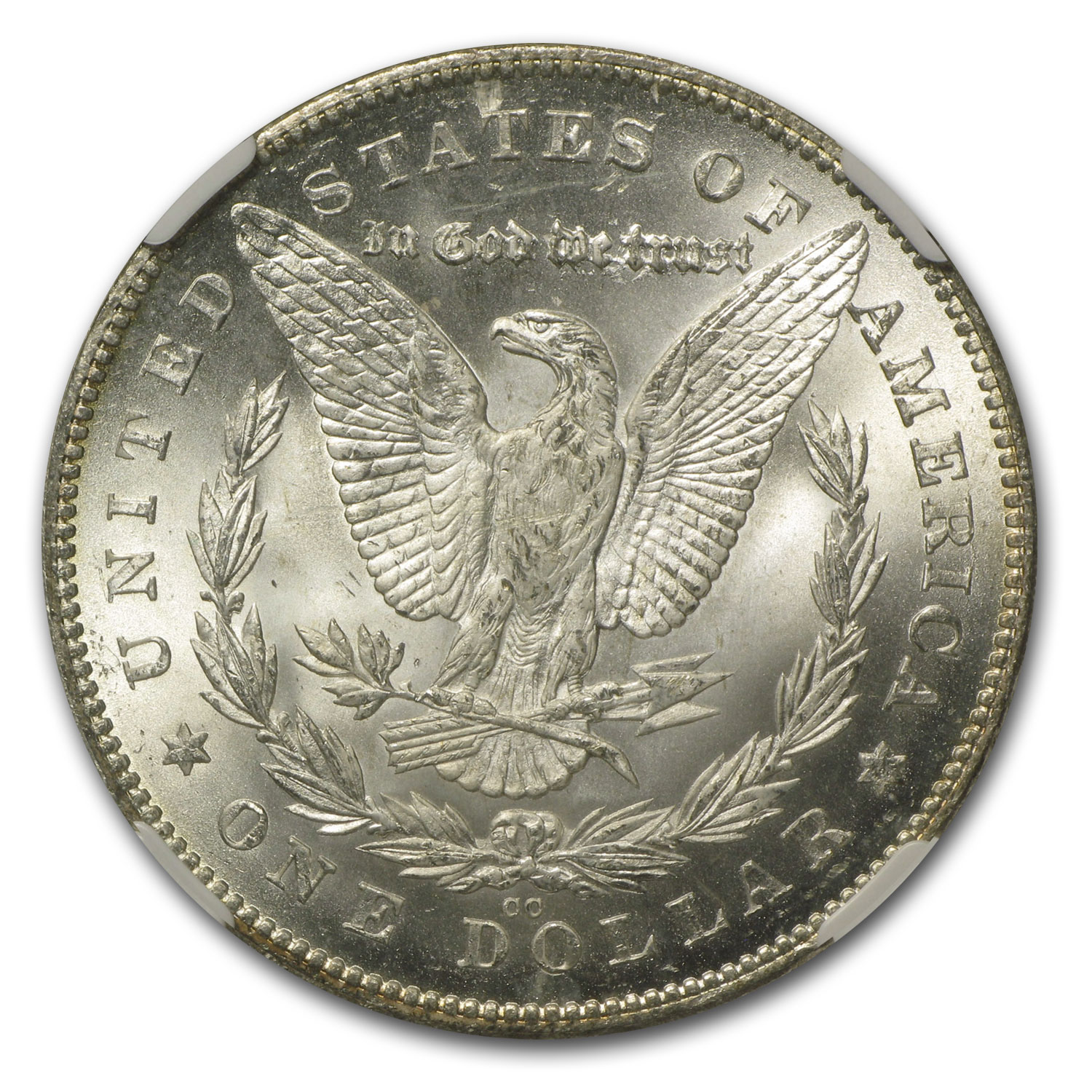 1880-CC Morgan Dollar Rev of 78 MS-62 NGC