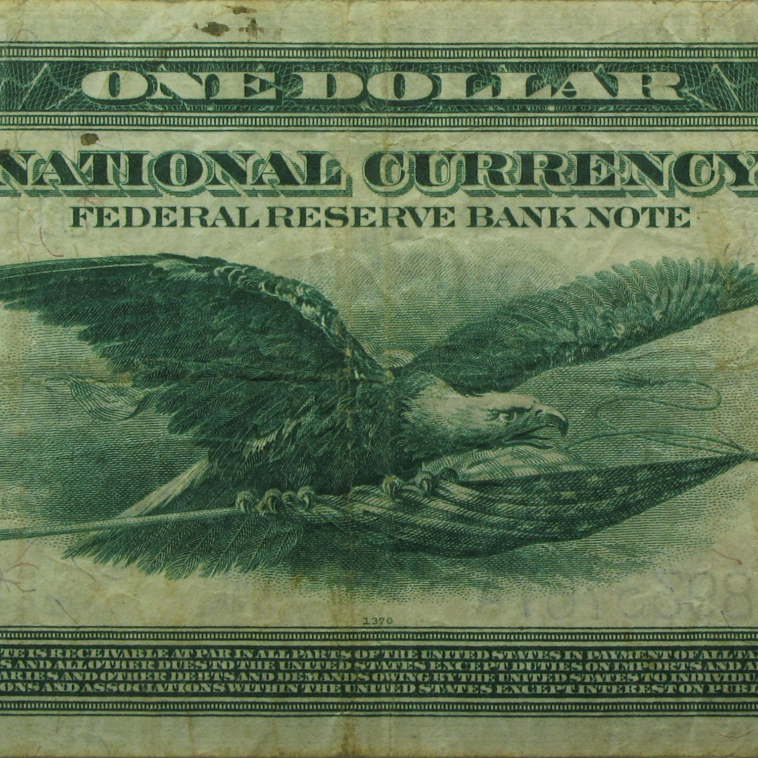 1918 (J-Kansas City) $1.00 FRN (Fine)