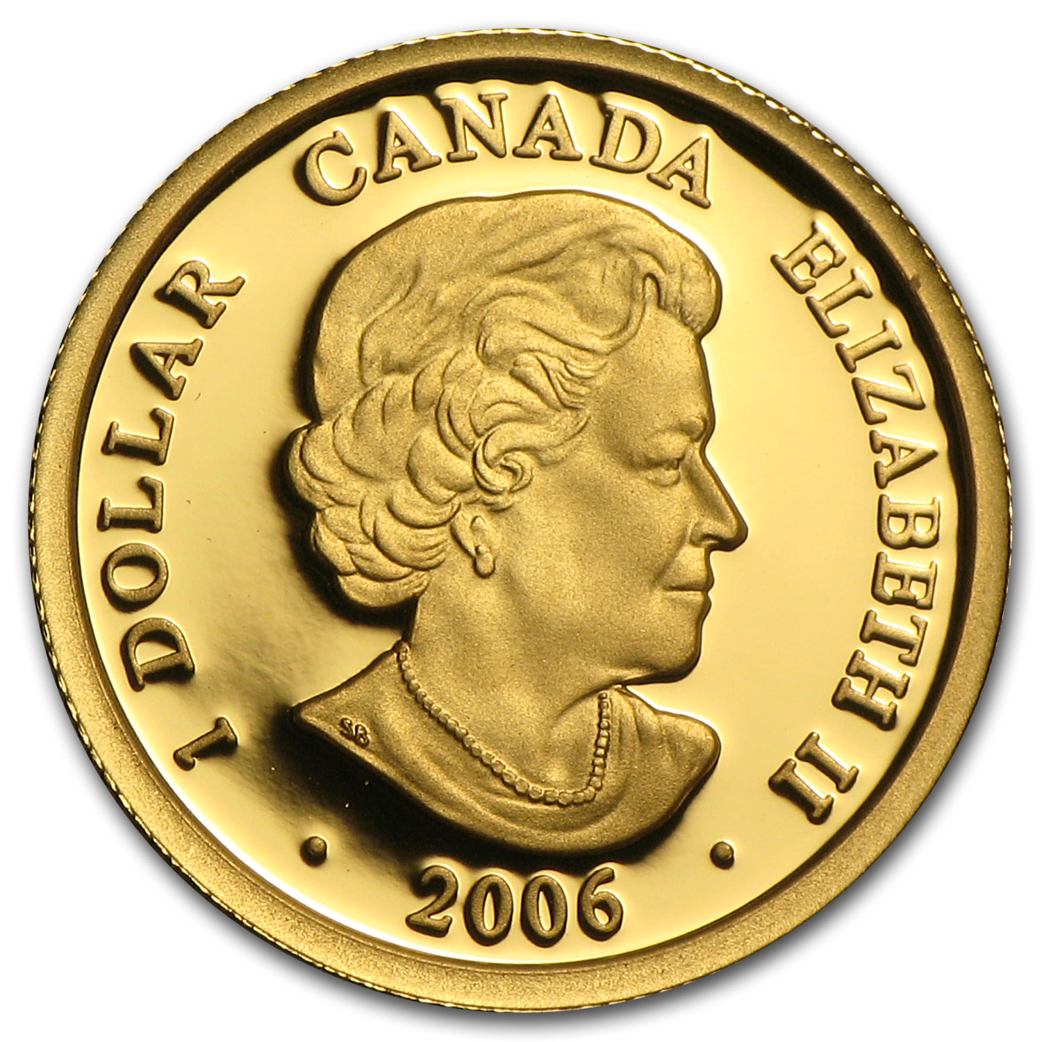 2006 Canada 1/20 oz Proof Gold $1 Louis d'or aux deux L