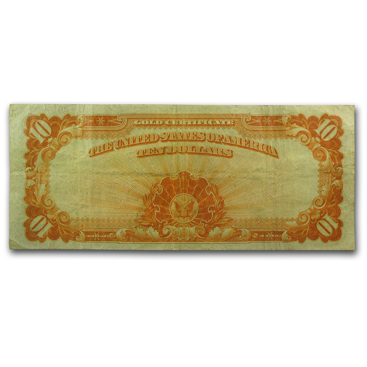 1907 $10  Gold Certificate (Very Fine +)