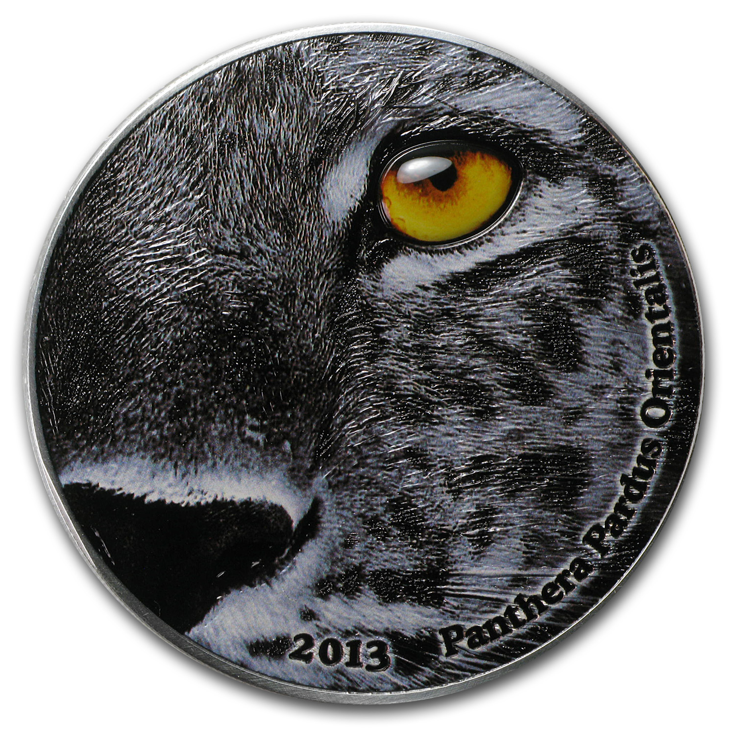 2013 Congo 2 oz Nature's Eyes Amur Leopard (Panthera)