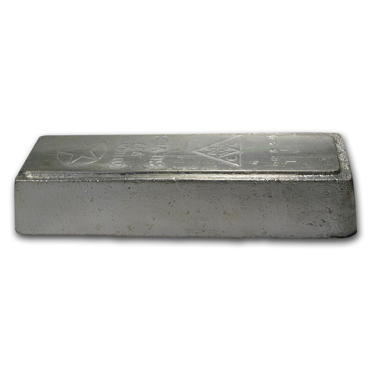 100 oz Silver Bars - American Republic Silver Co.