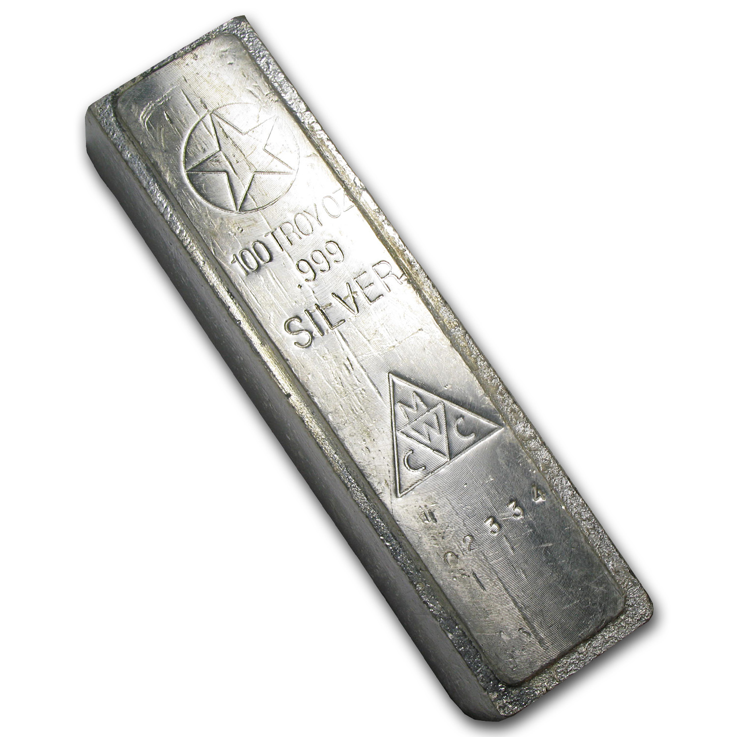 100 oz Silver Bar - American Republic Silver Co.