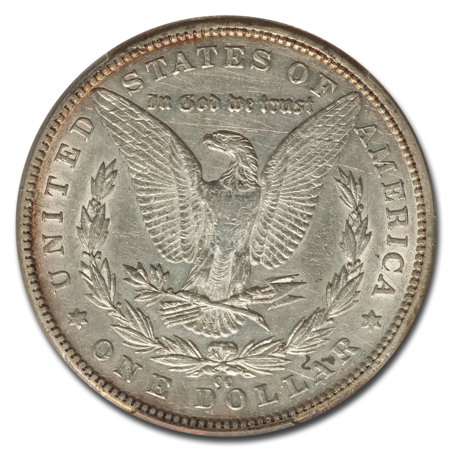 1889-CC Morgan Dollar AU-50 PCGS