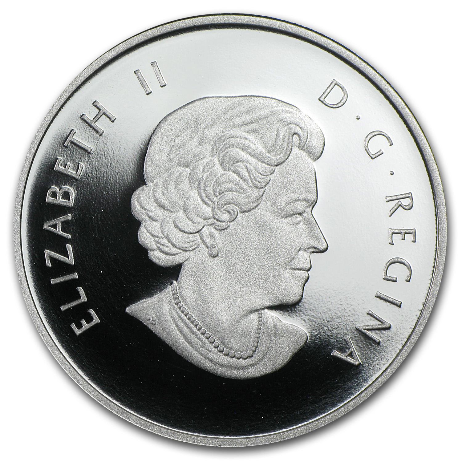 2013 1/2 oz Silver Canadian $10 A Partridge in a Pear Tree
