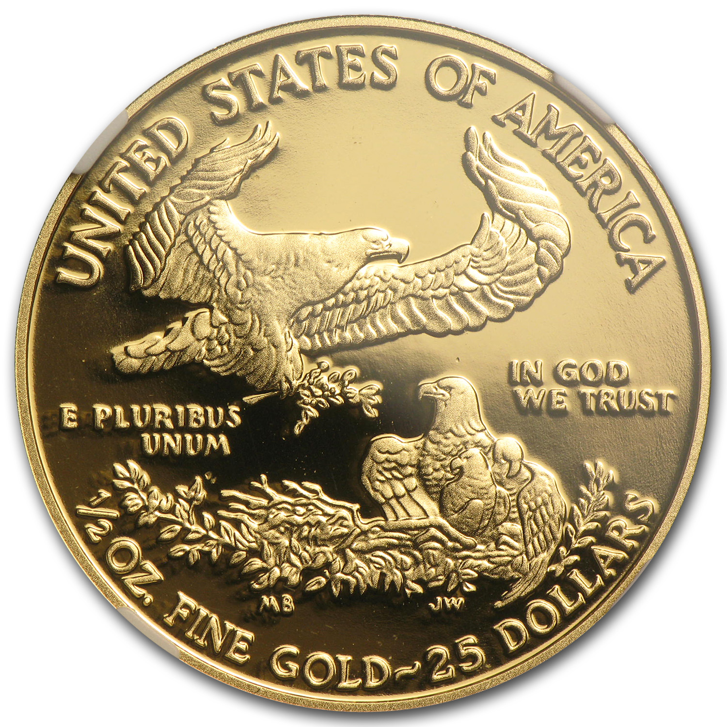 2014-W 1/2 oz Proof Gold American Eagle PF-70 NGC (ER)