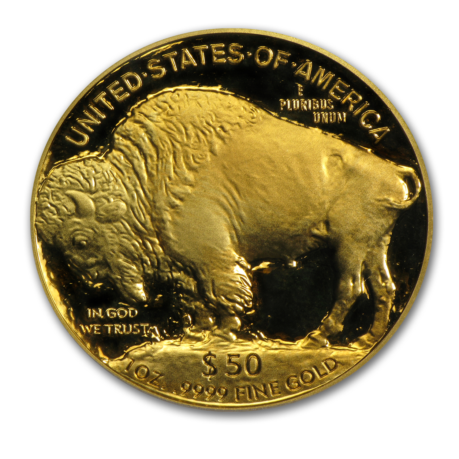 2014-W 1 oz Proof Gold Buffalo (w/Box & CoA)