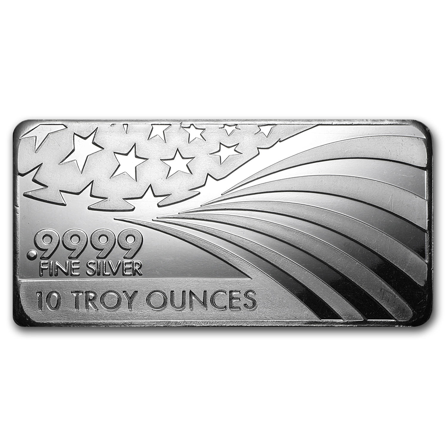 10 oz Silver Bar - APMEX/RMC (.9999 Fine, Co-Branded)