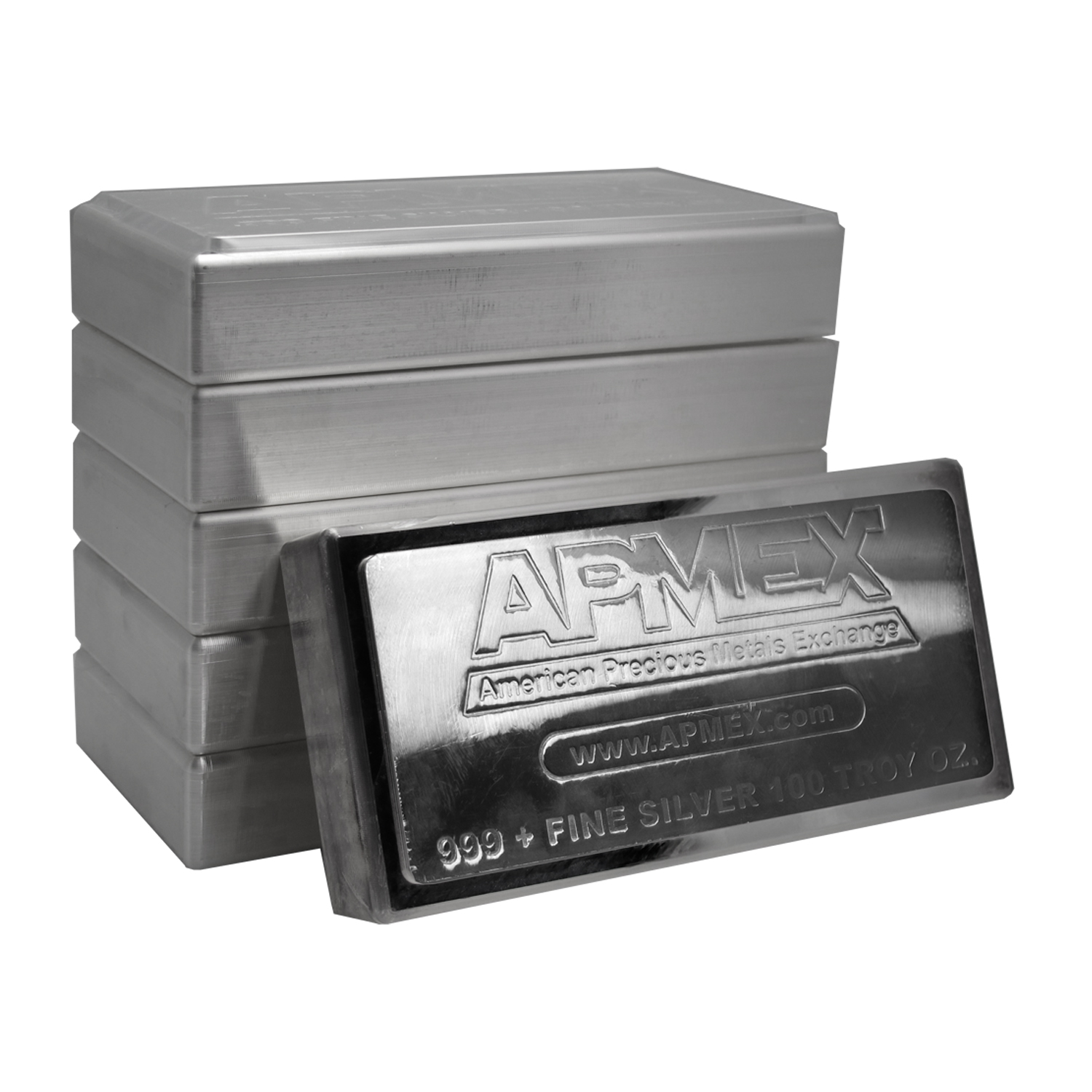 100 oz Silver Bar - APMEX (Stackable/Secondary Market)