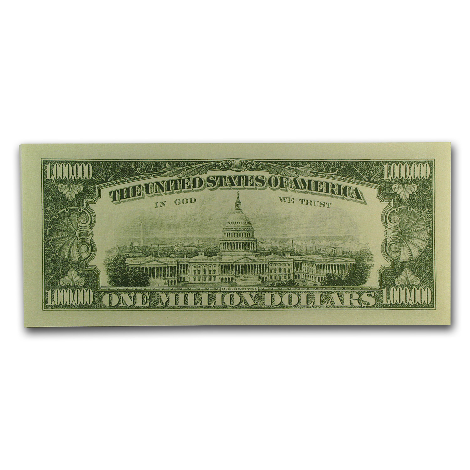 Novelty $1,000,000 Bills - Classic (10 Count)