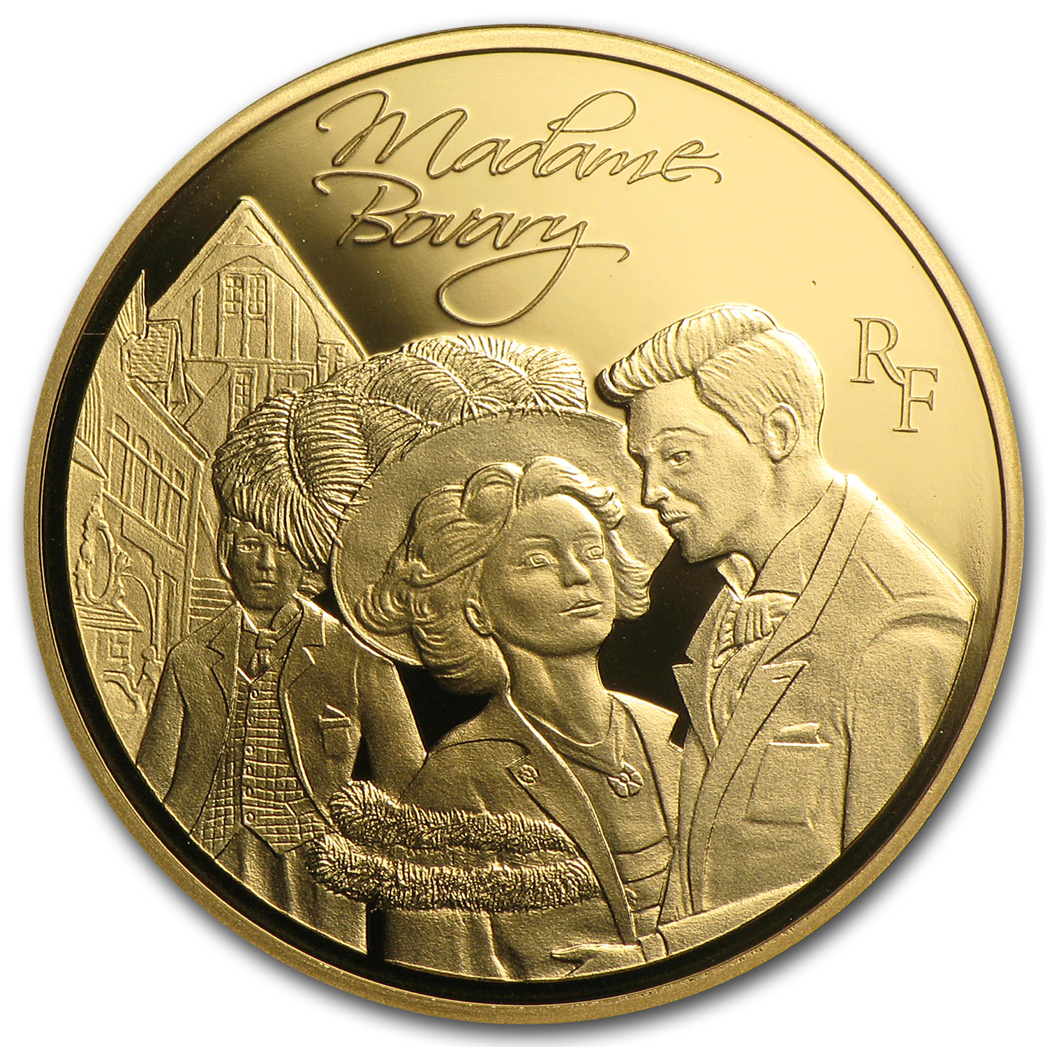 2013 1/4 oz Gold Heroes of French Literature- Madame Bovary