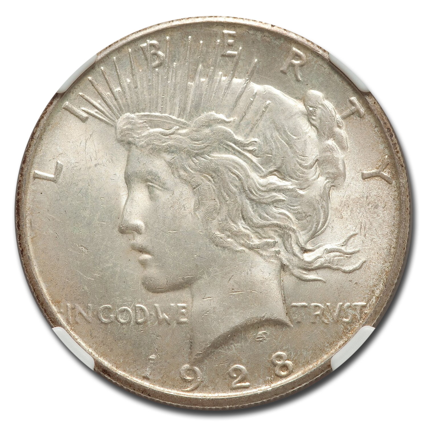 1928-S Peace Dollar MS-63 NGC