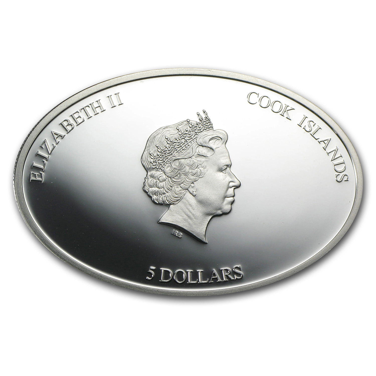 Cook Islands 2013 Proof Silver $5 SS Republic 1853-1865
