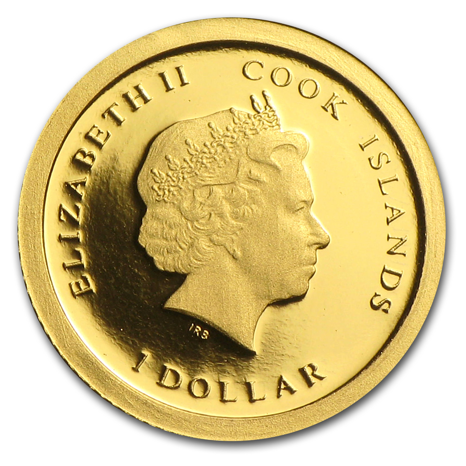 Cook Islands 2013 Proof Gold $1 SS Republic 1853-1865