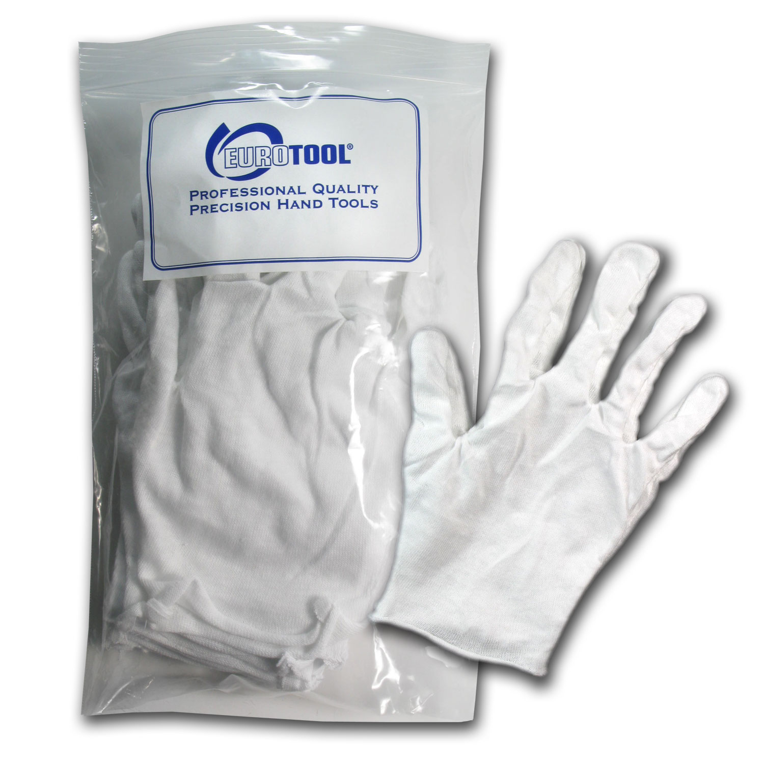 Cotton Glove - Large - 12 pack (6 Pair)