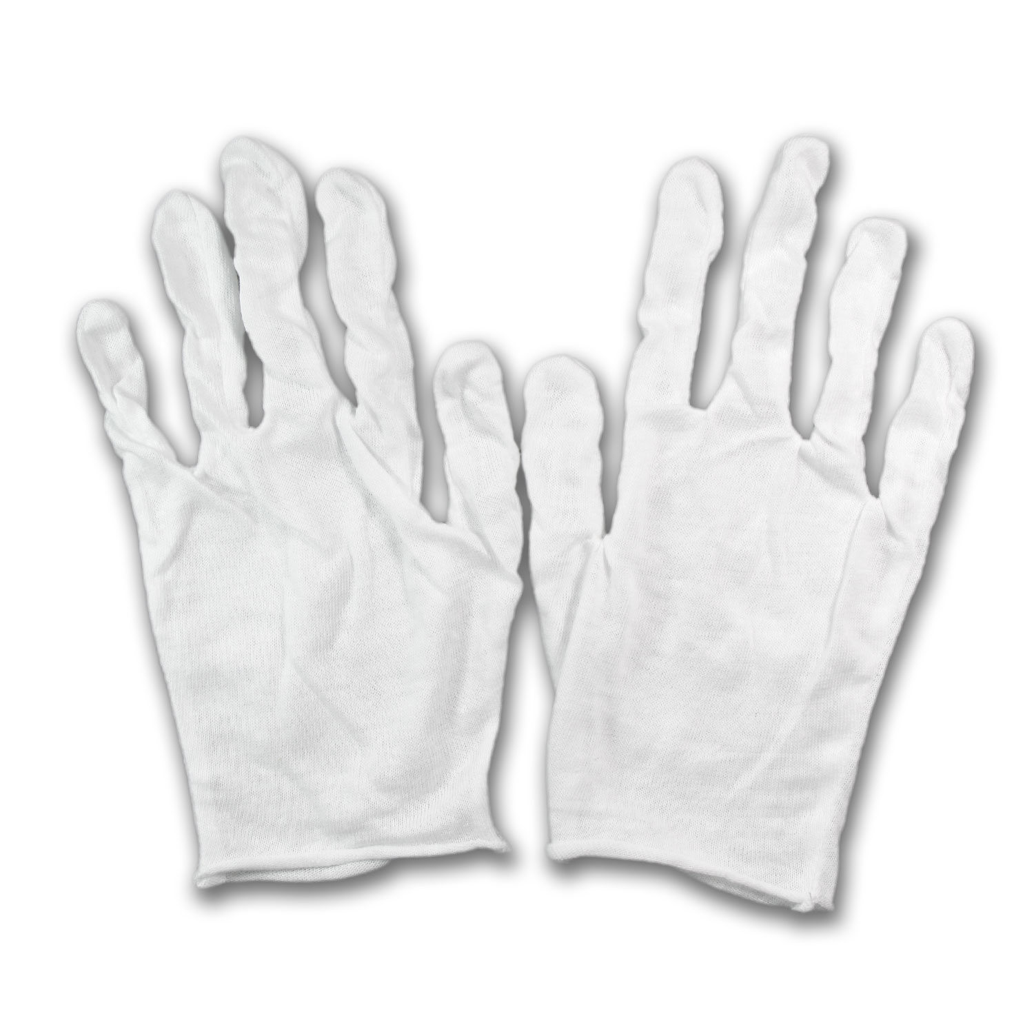 Cotton Glove - Large - 12 pack (6 Pairs)