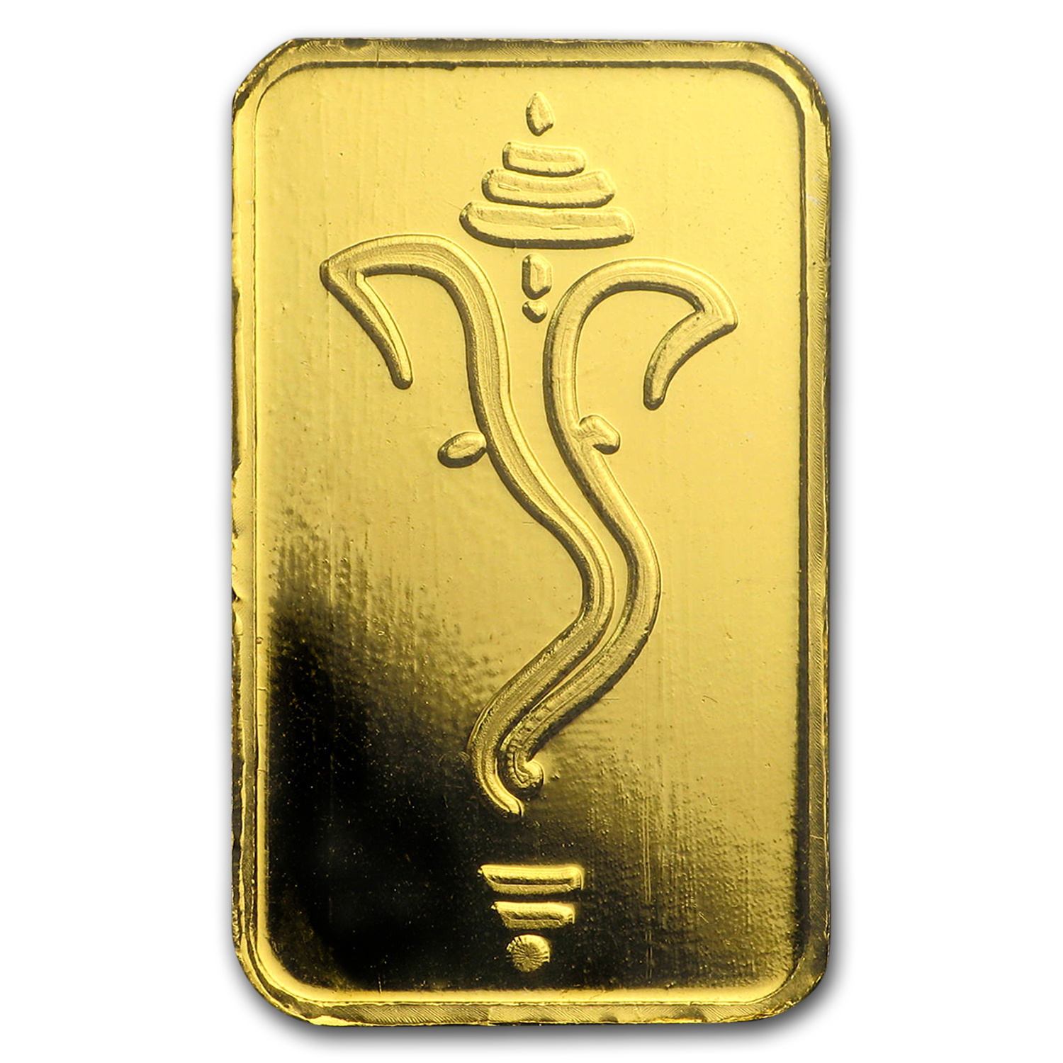 5 gram Gold Bars - Istanbul Gold Refinery (Ganesha, in Assay)