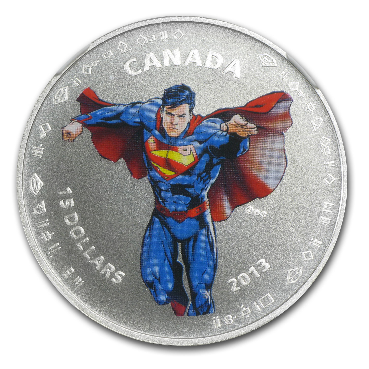 2013 Canada Silver 75th Anniv of Superman™ Modern Day PF-70 NGC