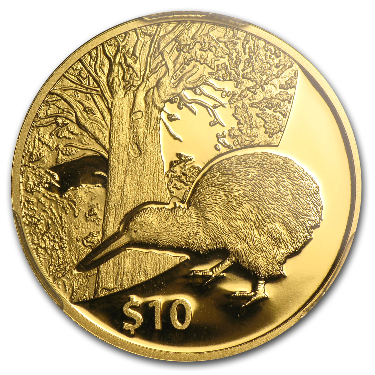 2013 New Zealand 1/4 oz Proof Gold $10 Tane Mahuta PR-70 PCGS