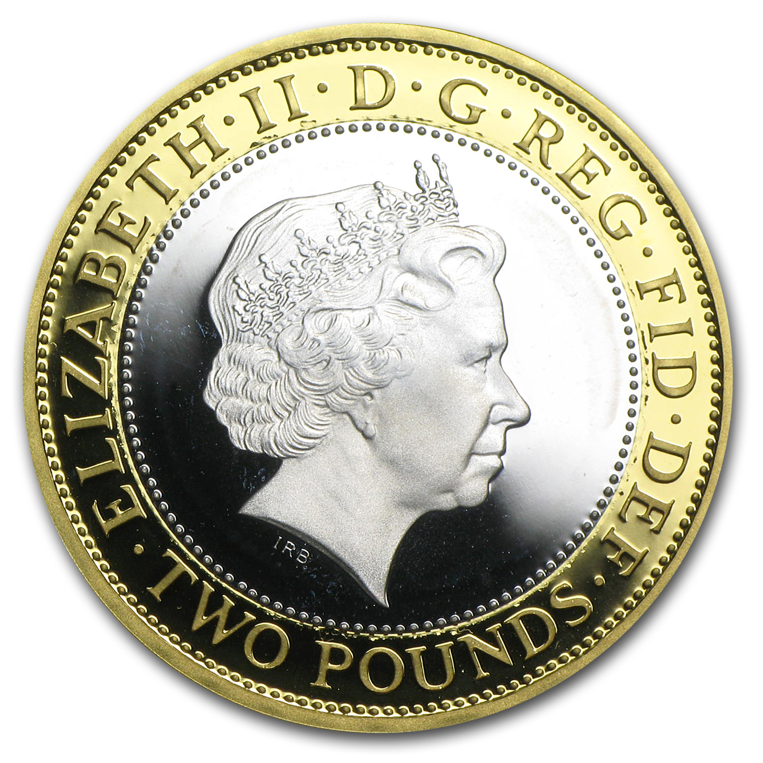 2013 Great Britain Silver £2 Guinea Proof