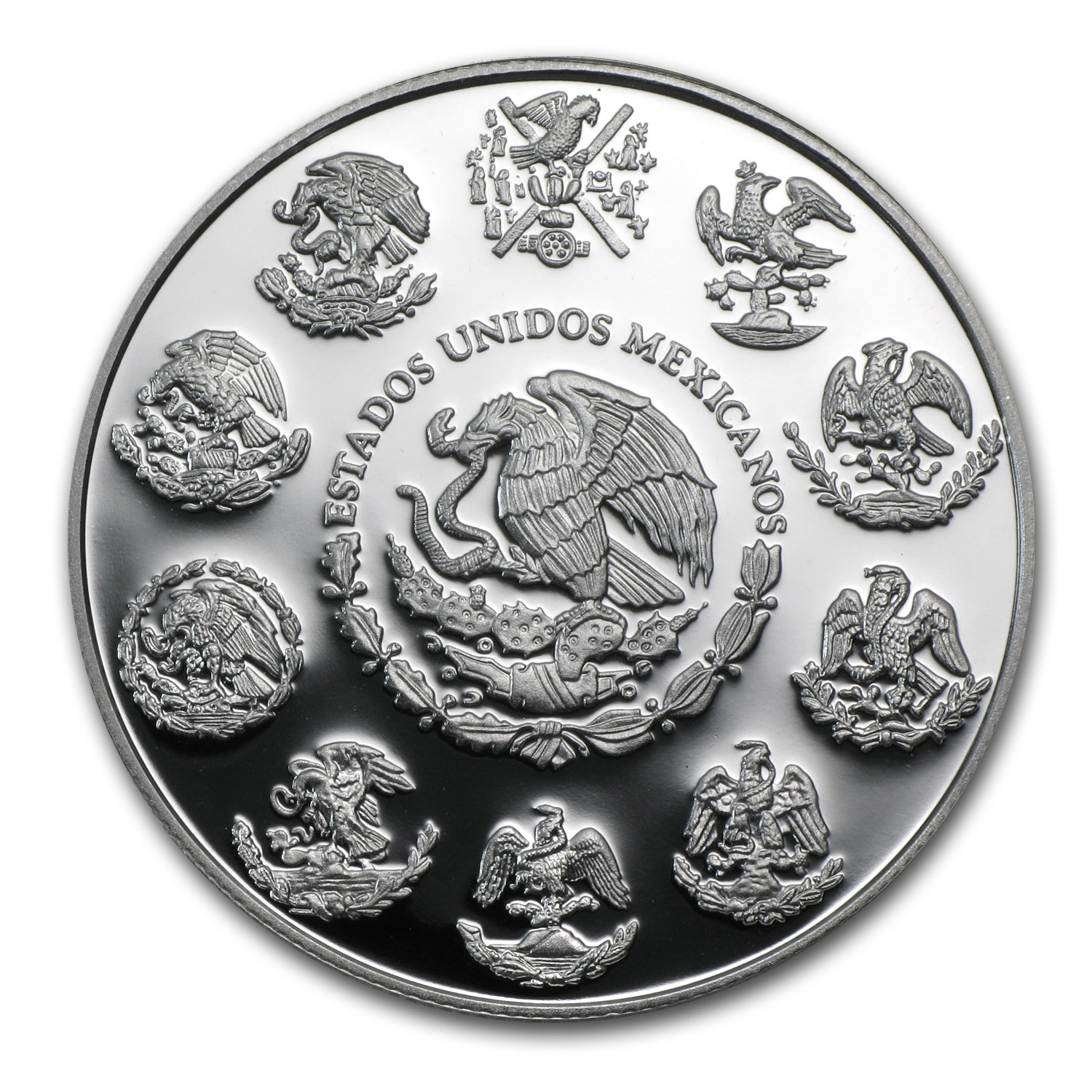 2014 1 oz Silver Mexican Libertad - Proof (In Capsule)