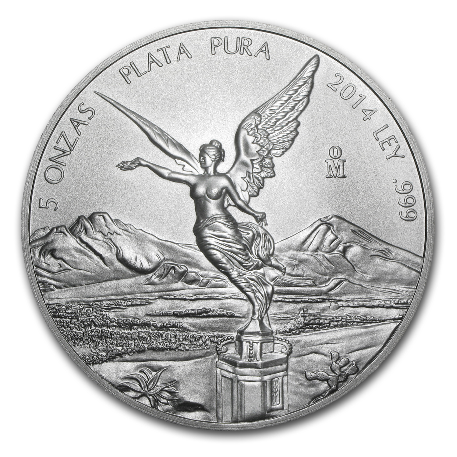 2014 5 oz Silver Mexican Libertad (Brilliant Uncirculated)