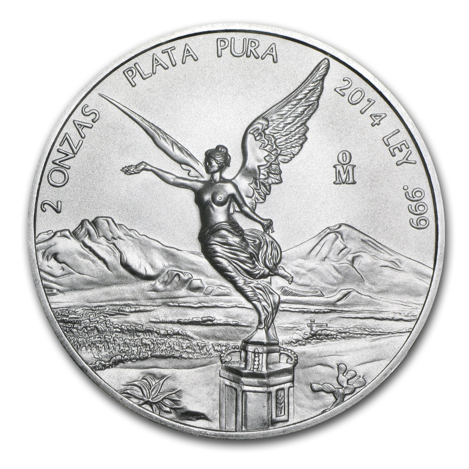 2014 2 oz Silver Mexican Libertad (Brilliant Uncirculated)