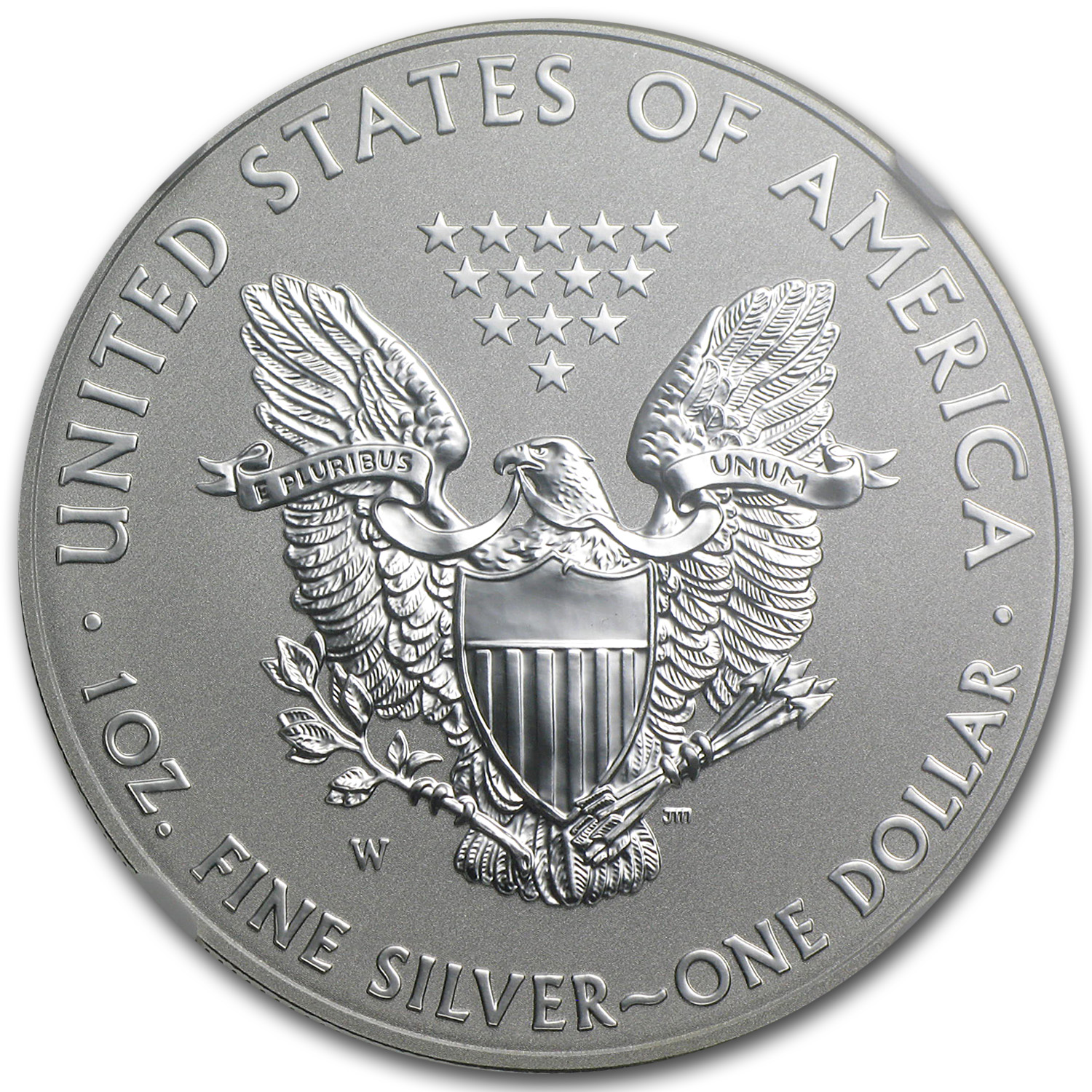 2013-W 1 oz Reverse Proof Silver Eagle (Capsule Only)
