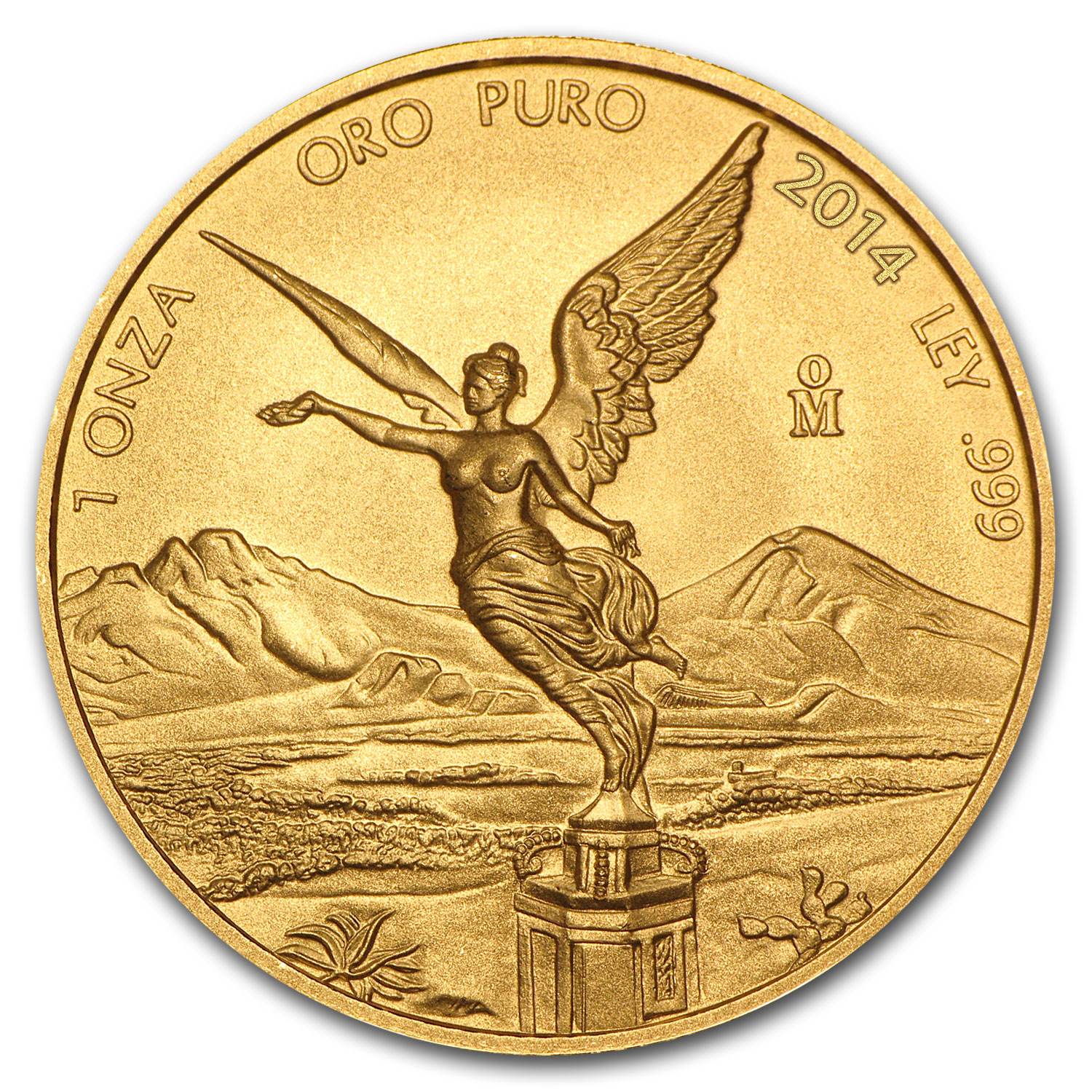 2014 1 oz Gold Mexican Libertad BU