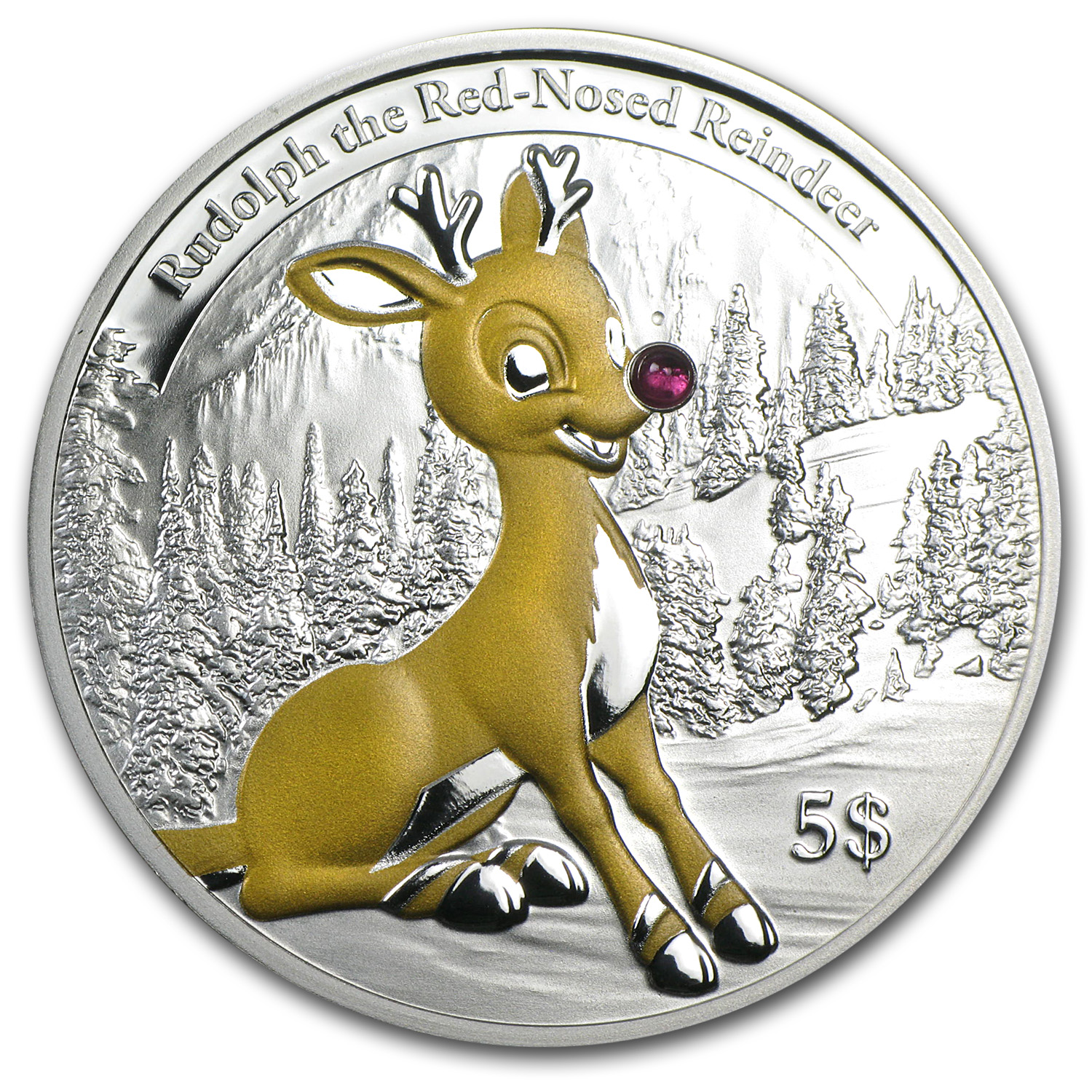 2013 Republic of Kiribati Rudolph the Red-Nosed Reindeer