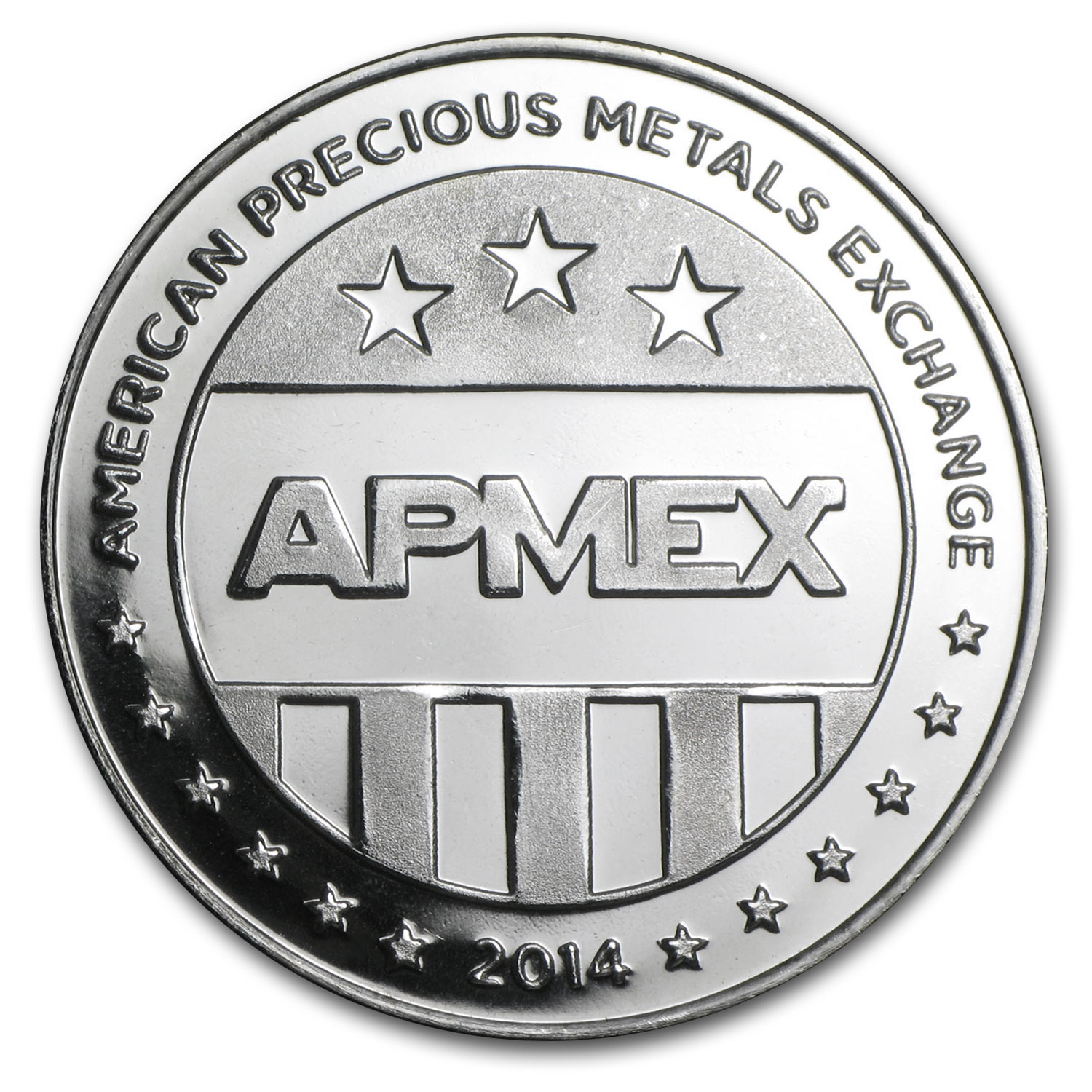 1 oz Silver Rounds - APMEX (2014 Eagle Eye)