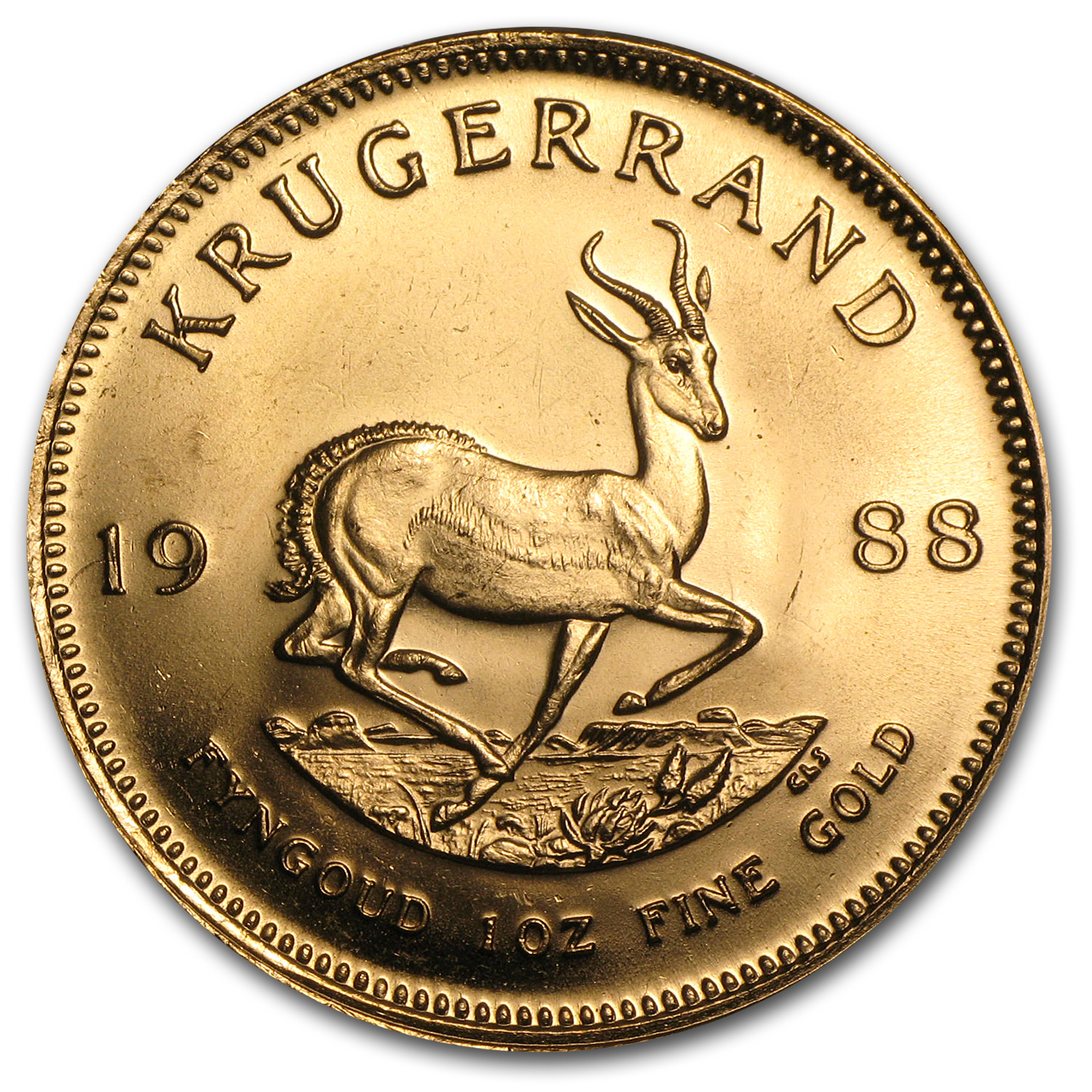 1988 1 oz Gold South African Krugerrand