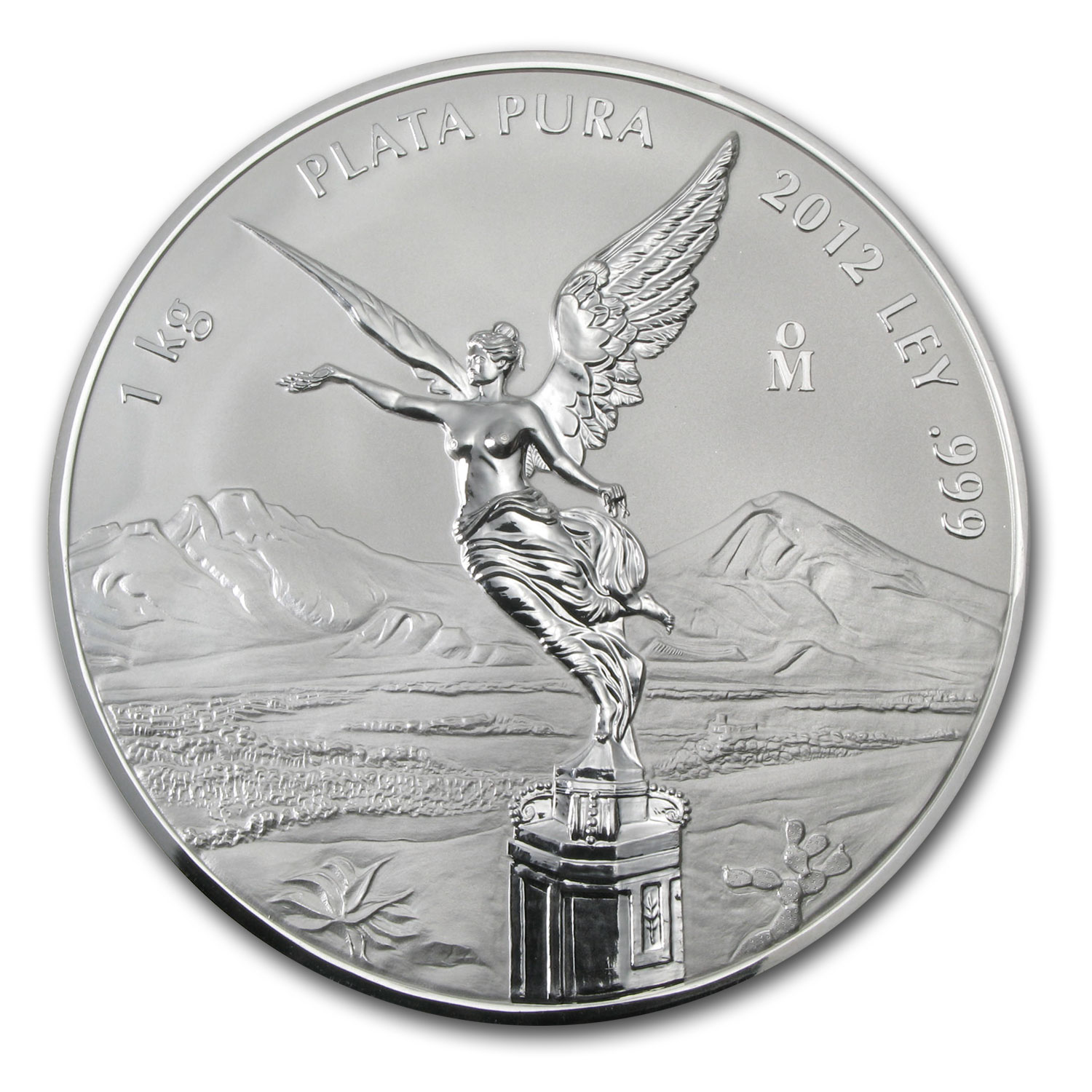 2012 32.15 oz Kilo Silver Libertad Proof Like - (w/ Box & CoA)