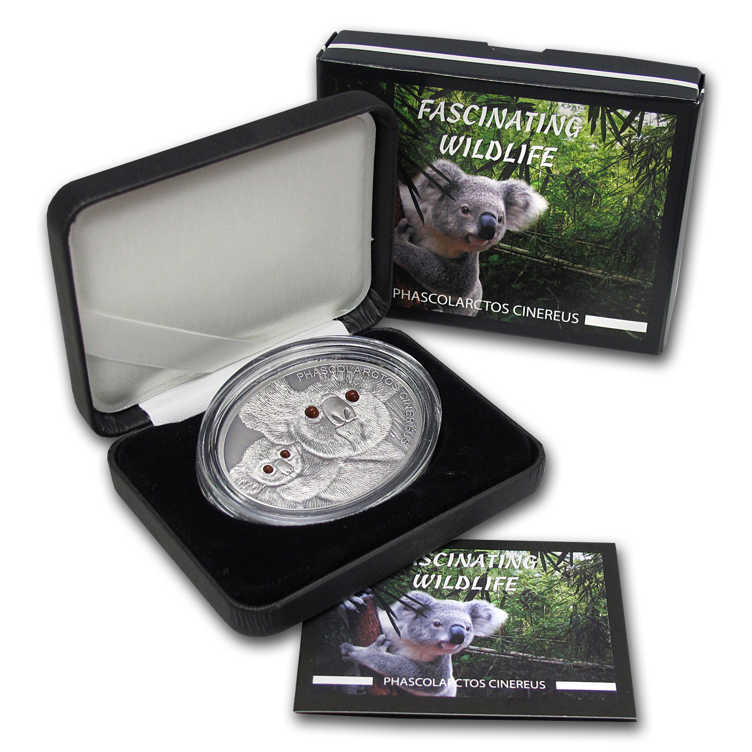 2013 Fiji 1 oz Silver $10 Fascinating Wildlife (Koala)
