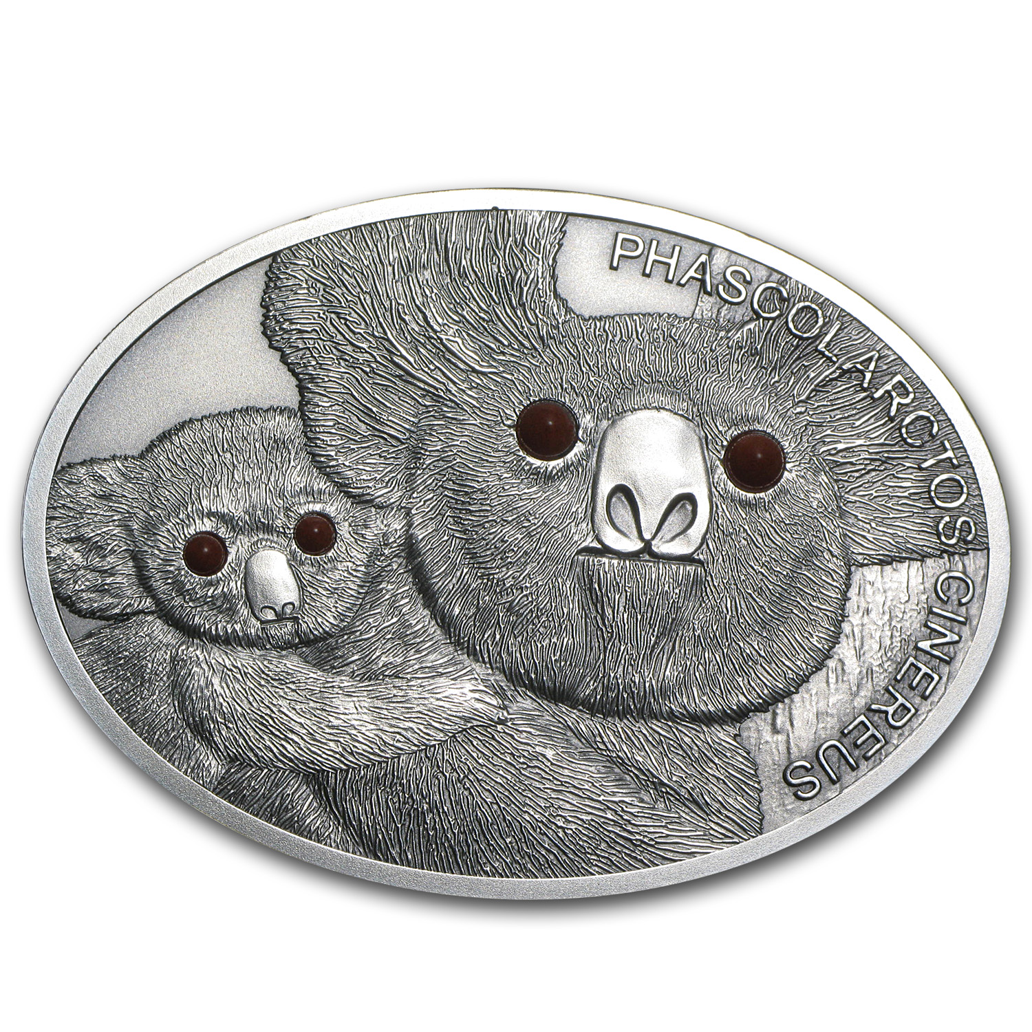Fiji 2013 1 oz Silver $10 Fascinating Wildlife - Koala
