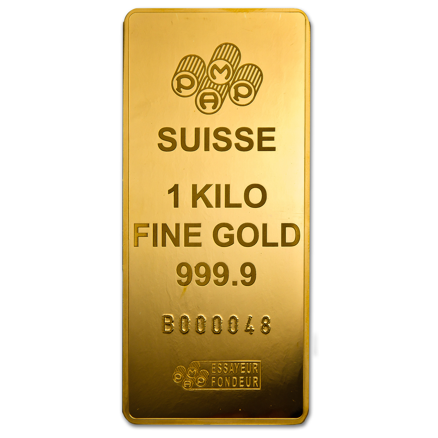1 Kilo Gold Bars - Pamp Suisse (Fortuna, in Box)(Aug 22nd)
