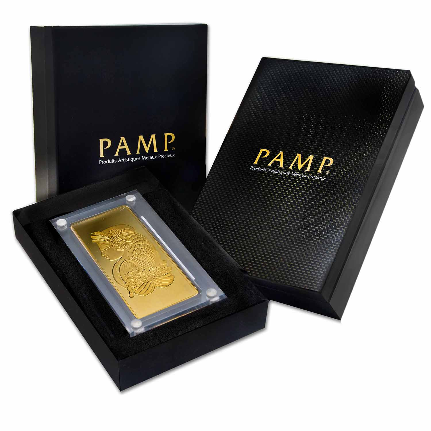 1 Kilo Gold Bars - Pamp Suisse (Fortuna, in Box)