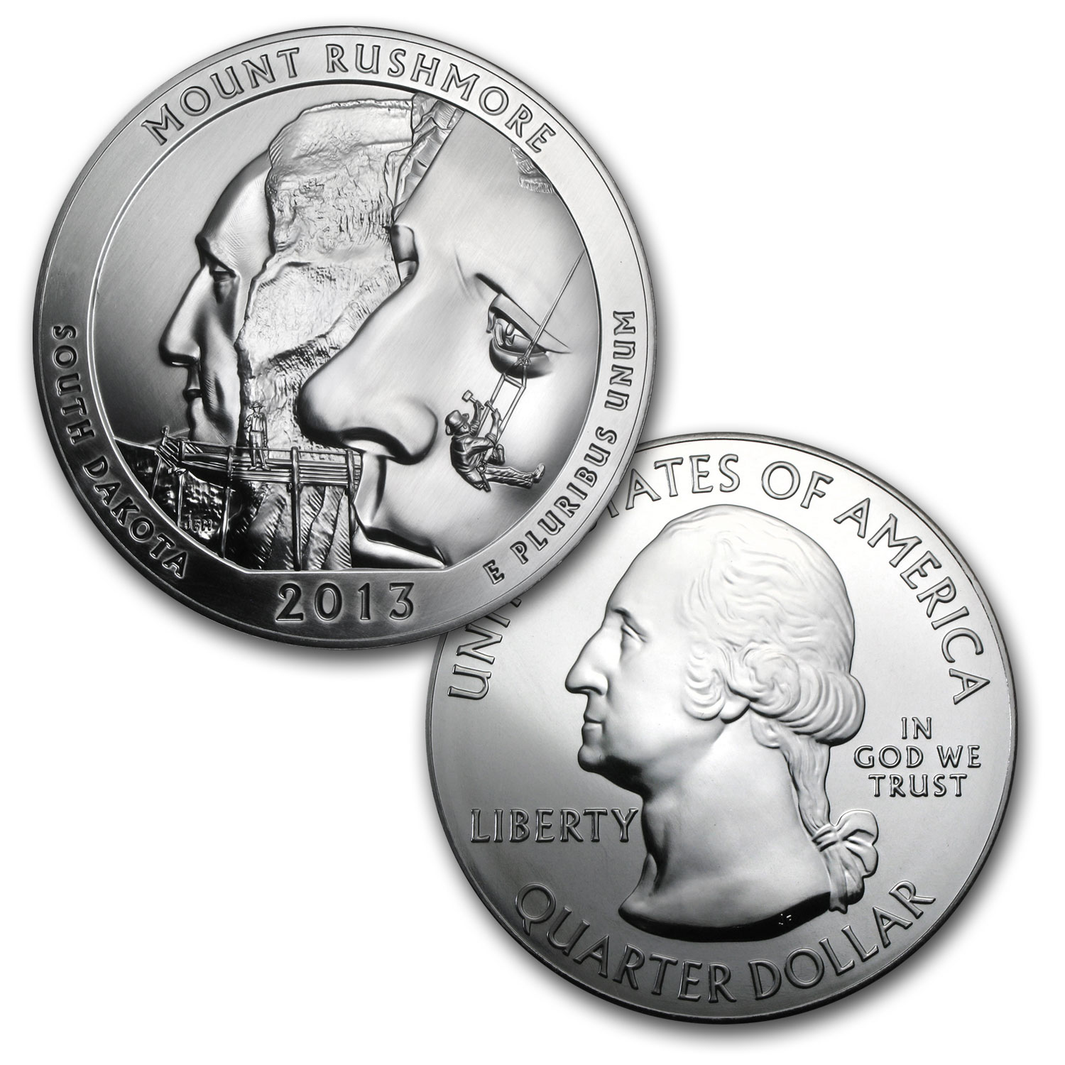 2013 5-Coin 5 oz Silver ATB Set (Elegant Display Box)