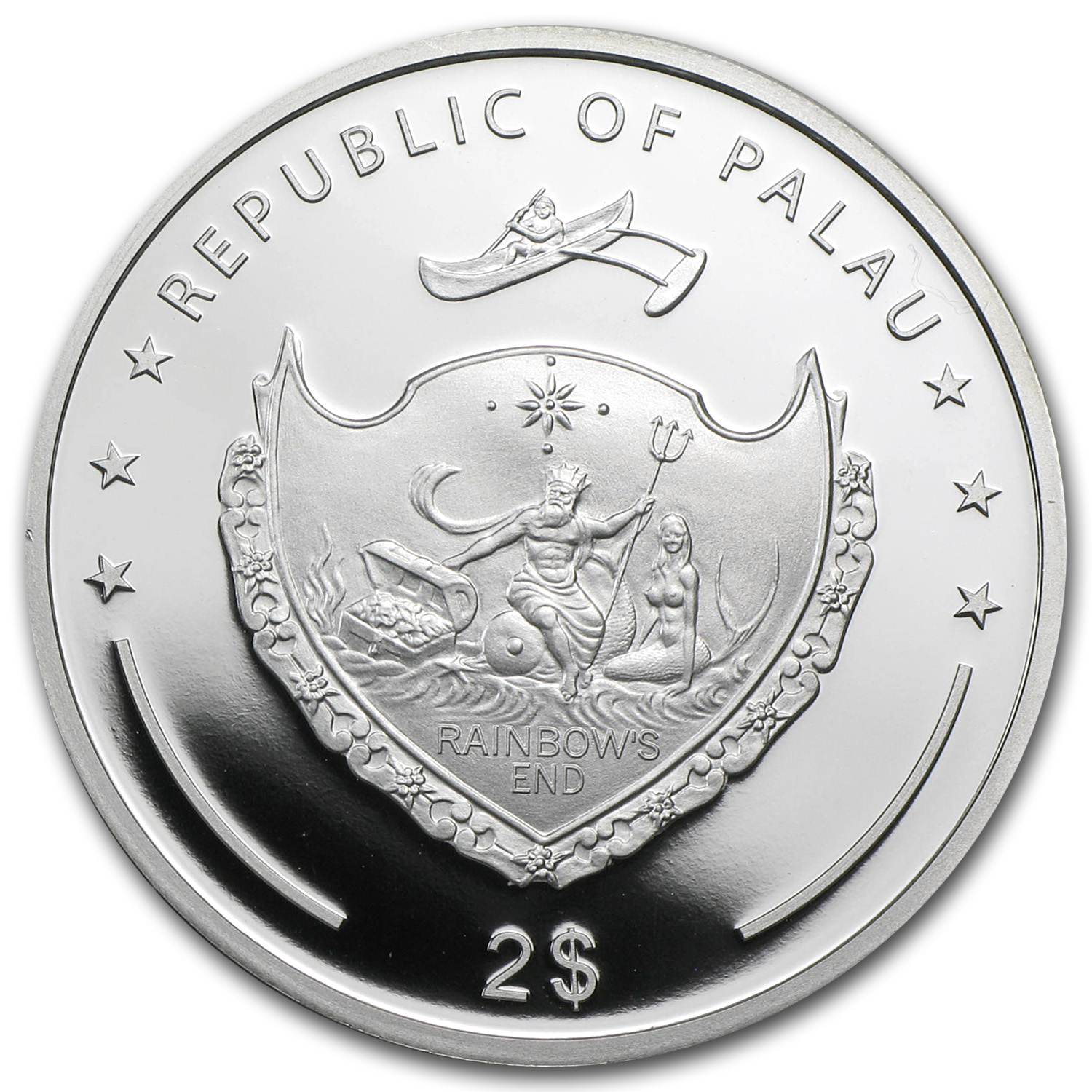 Palau 2014 $2 Proof 1/2 oz Year of the Horse - Baby Colt