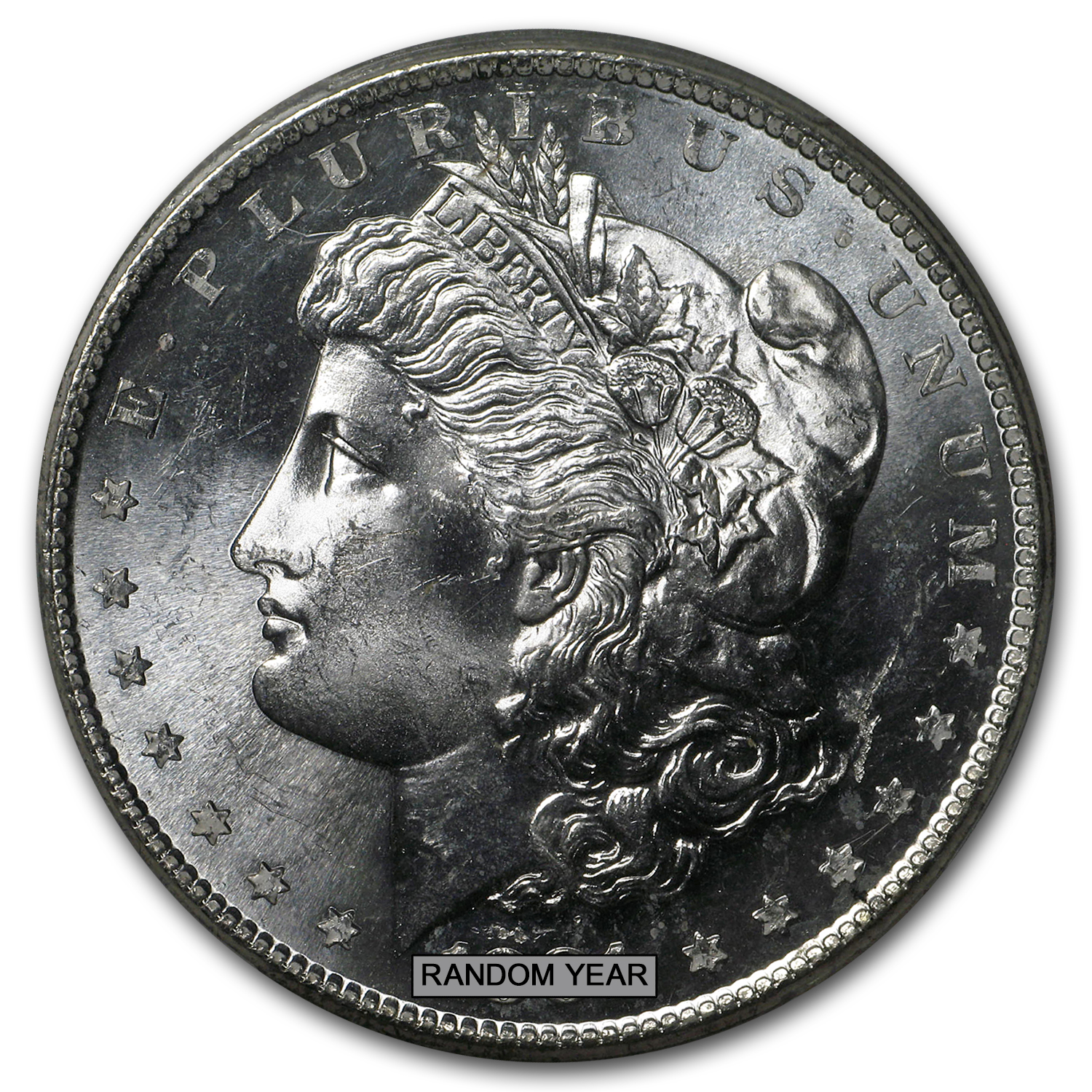 1878-1904 Morgan Dollars - MS-64 PCGS (Proof Like)