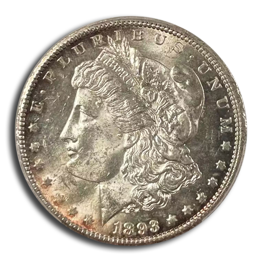 1893-CC Morgan Dollar MS-62 PCGS