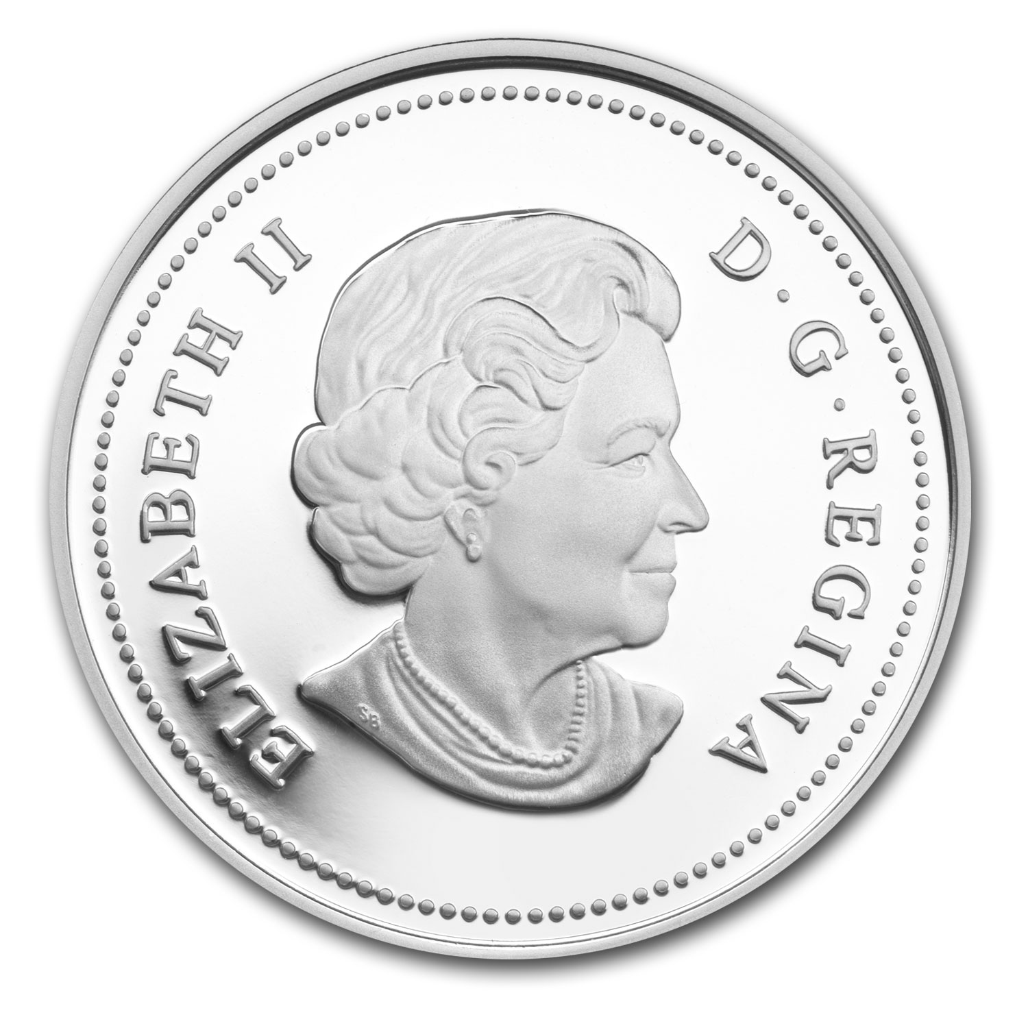 2013 Silver Canadian $5 Tradition of Hunting - Bison